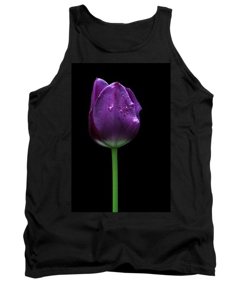 Purple Tulip Tank Top