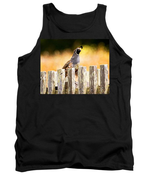 Quail Lookout Tank Top