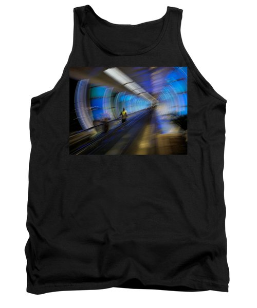 Tank Top featuring the photograph Quantum Tunneling by Alex Lapidus