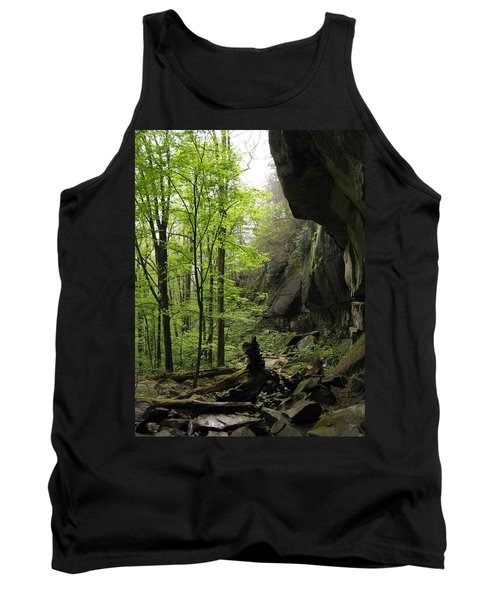 Quilliams Cave Tank Top by Melinda Fawver