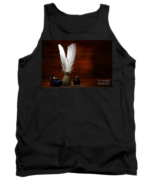 Quills And Inkwells Tank Top