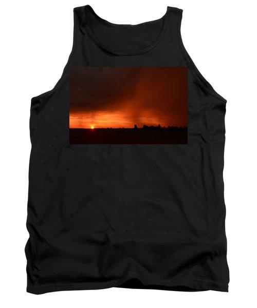 Rain Squall Sunrise Tank Top