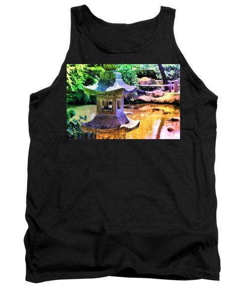 Rainbow Pagoda Tank Top