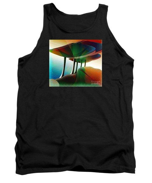 Rainbow Trees Tank Top