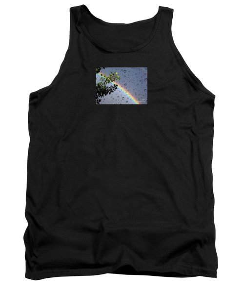 Tank Top featuring the photograph Raindrops by Janice Westerberg
