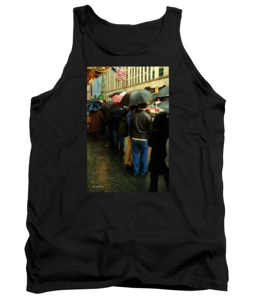 Rainy Afternoon On Broadway Tank Top