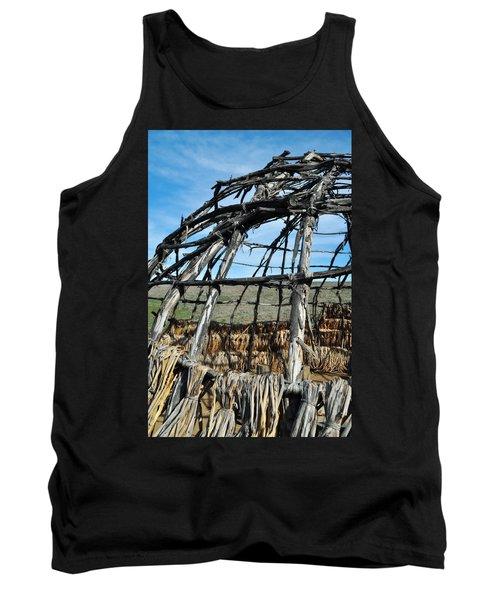 Tank Top featuring the photograph Rancho Sierra Vista Satwiwa Chumash Ap Home by Kyle Hanson
