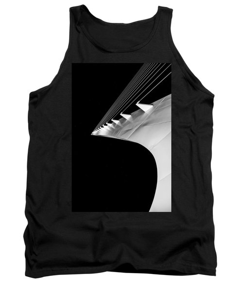 Reading A Sundial At Midnight Tank Top by Alex Lapidus