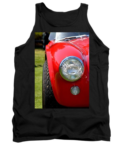 Tank Top featuring the photograph Red Ac Cobra by Dean Ferreira