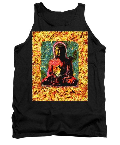 Red Buddha Tank Top