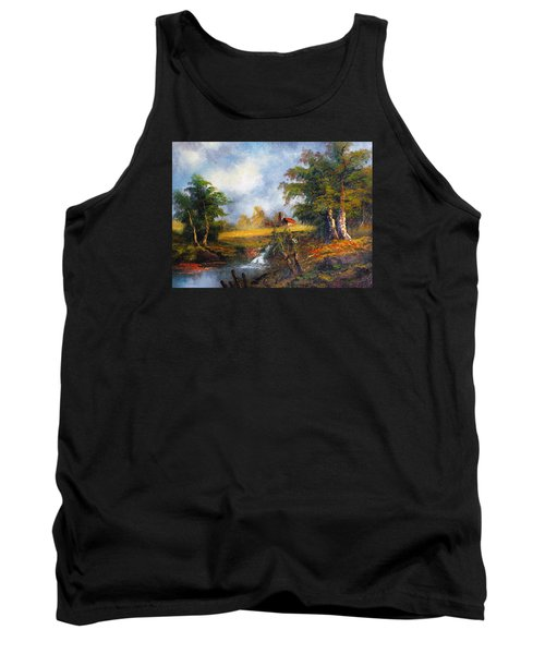Red Cottage Tank Top