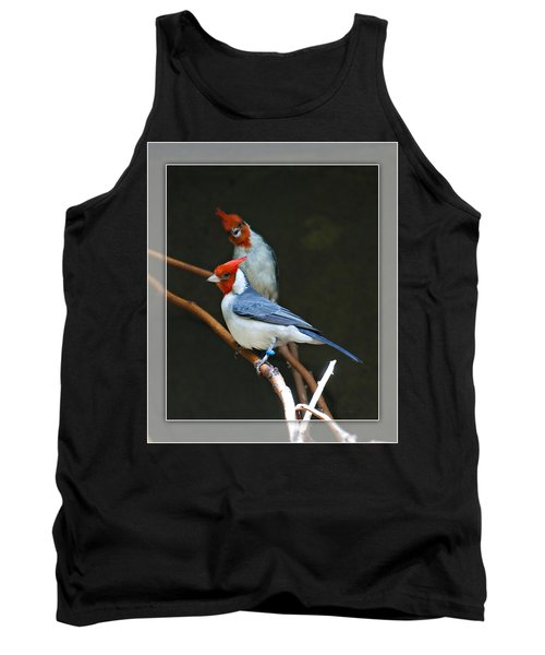 Red-crested Cardinal Tank Top