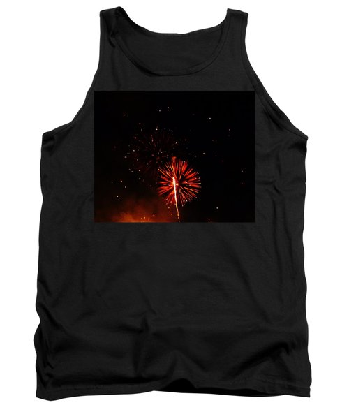 Tank Top featuring the photograph Red Dahlia by Amar Sheow