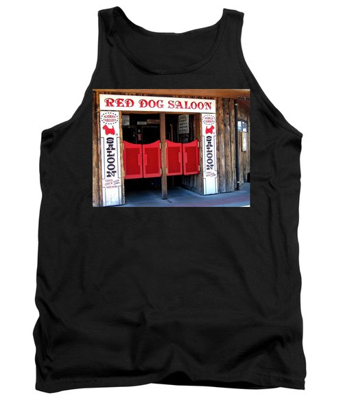 Red Dog Saloon Juneau Tank Top