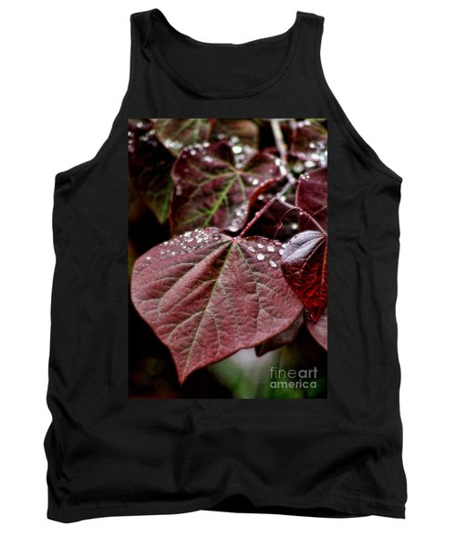 Tank Top featuring the photograph Red Heart by Peggy Hughes
