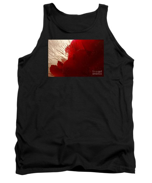 Tank Top featuring the photograph Red Ice by Randi Grace Nilsberg