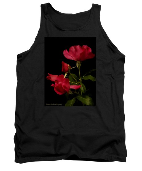 Tank Top featuring the photograph Red Is For Passion by Lucinda Walter