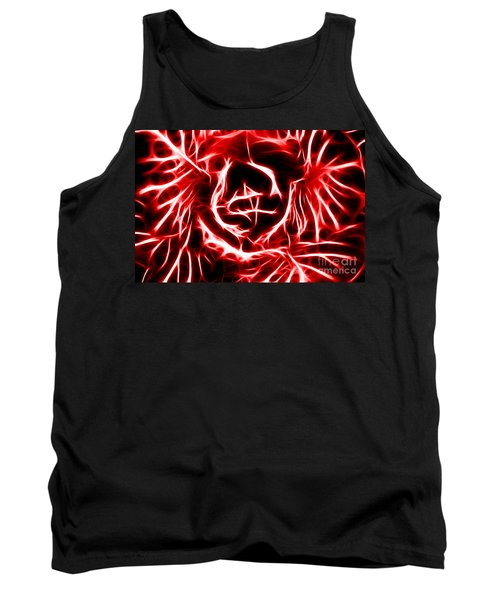 Red Lettuce Tank Top