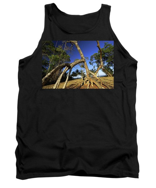 Red Mangrove Aerial Roots Tank Top