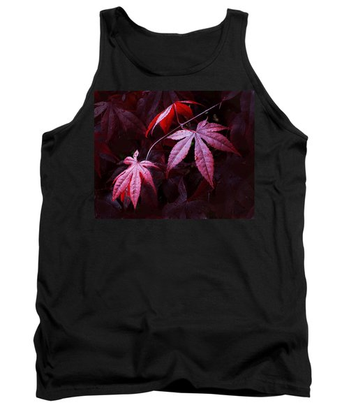Red Maple Trio Tank Top