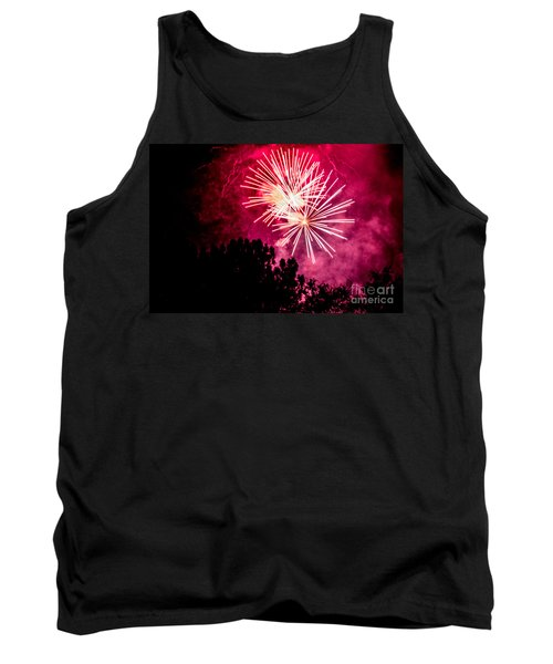 Tank Top featuring the photograph Red Night by Suzanne Luft