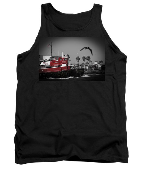 Red Pop Tugboat Tank Top