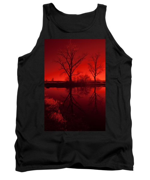 Red Reflections Tank Top