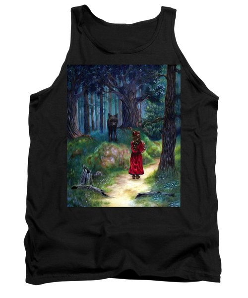 Red Riding Hood Tank Top