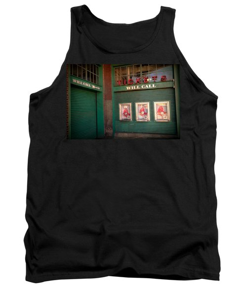 Red Sox Tickets Will Call Tank Top