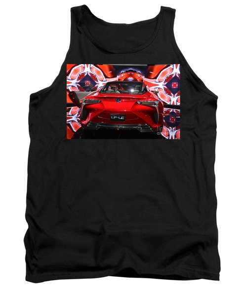 Red Velocity Tank Top
