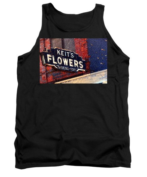 Red White Blue And Rusty Tank Top