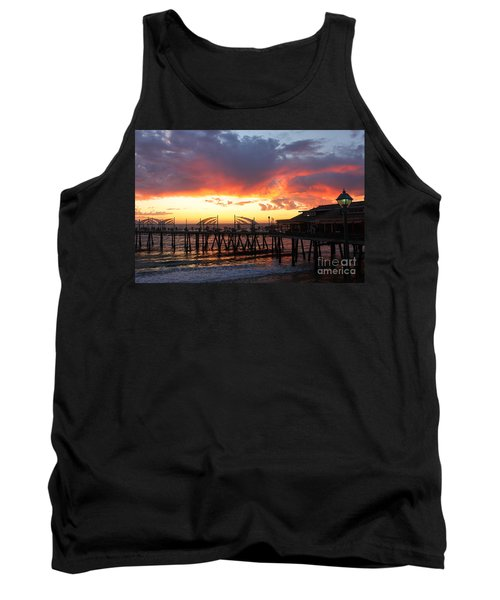 Redondo Pier Sunset Tank Top