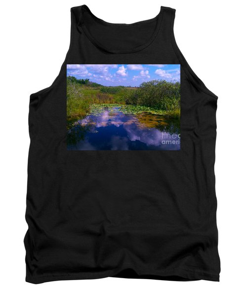 Reflecting In The Glades Tank Top