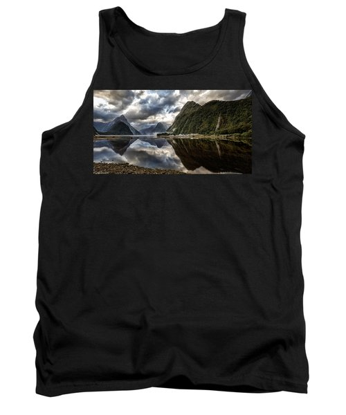 Reflecting On Milford Tank Top