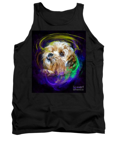 Tank Top featuring the digital art Reflecting On My Life by Kathy Tarochione