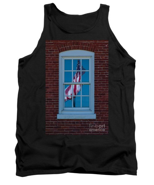 Tank Top featuring the photograph Reflection Of Freedom by Patrick Shupert