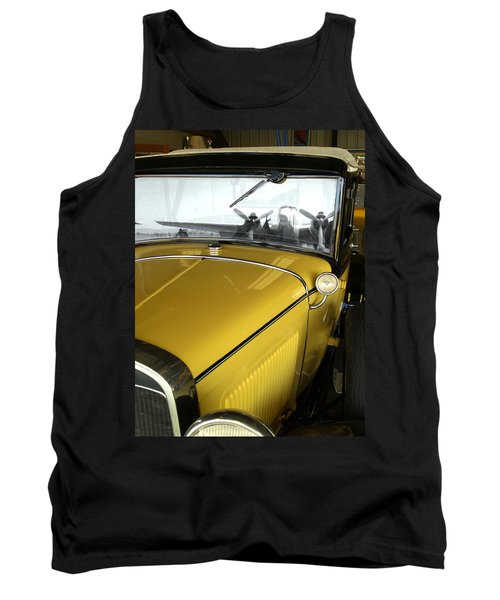 Reflection Of The Past Tank Top by Bill Gallagher