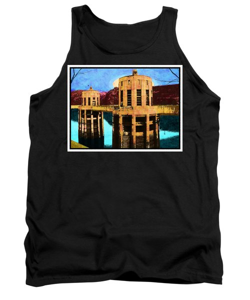 Reflections At Hoover Dam Tank Top