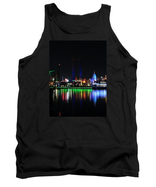 Reflections At Night Tank Top