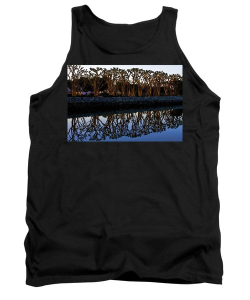 Tank Top featuring the photograph Reflections In First Light by Gary Holmes