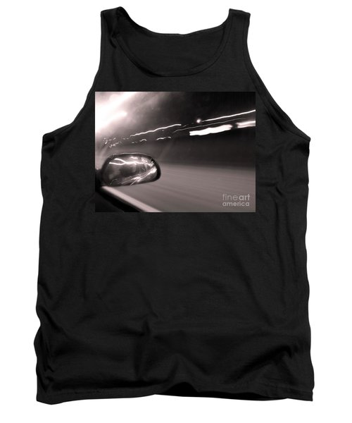 Reflections In The Night Tank Top