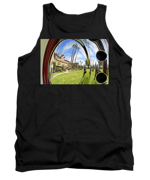 Tank Top featuring the pyrography Reflections Of A 1937 Cord by Shoal Hollingsworth