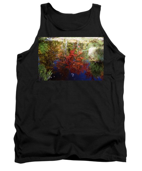 Tank Top featuring the photograph Reflections On Algonquin by David Porteus