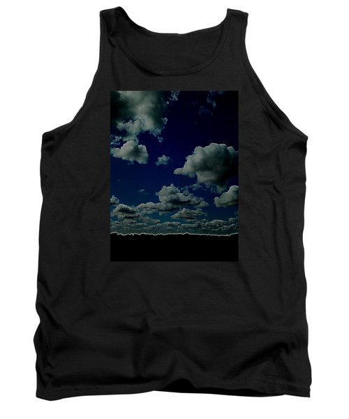 Tank Top featuring the digital art Regret by Jeff Iverson