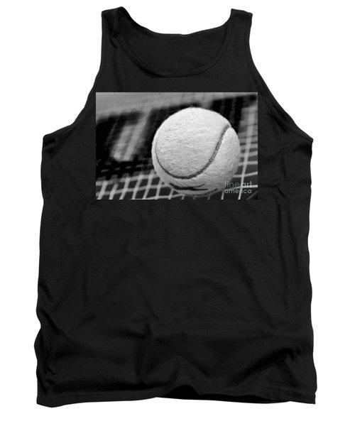 Remember The White Tennis Ball Tank Top