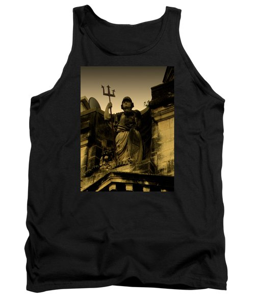 Tank Top featuring the photograph Trident To The Sky by Salman Ravish