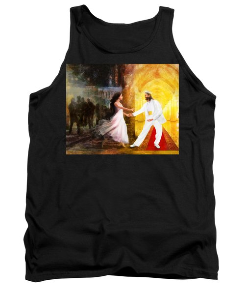 Rescued From Darkness Tank Top by Francesa Miller