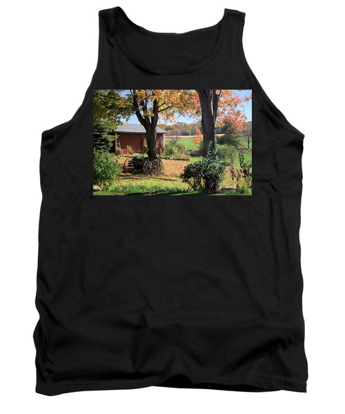 Retired Wagon Tank Top by Gordon Elwell