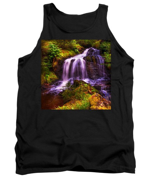 Retreat For Soul. Rest And Be Thankful. Scotland Tank Top by Jenny Rainbow