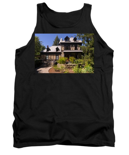 Rhine House At Beringer Winery St Helena Napa California Dsc1724 Tank Top